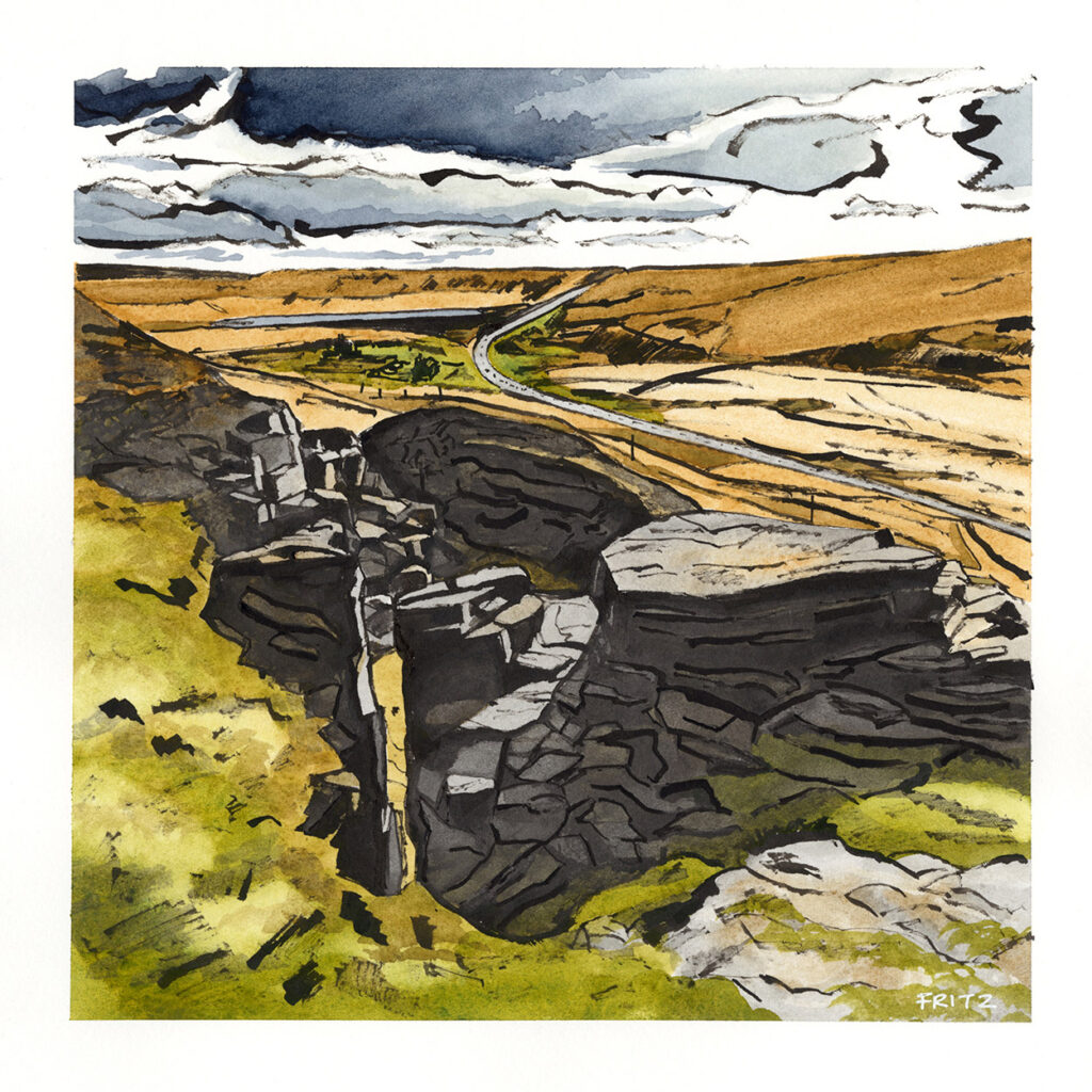 Pule Hill Quarry, Marsden Moor