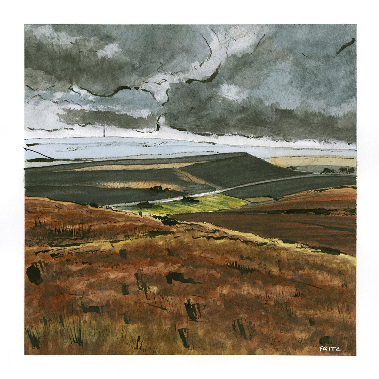 Pule Hill, Marsden Moor